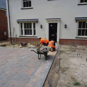 Block Paving Installation