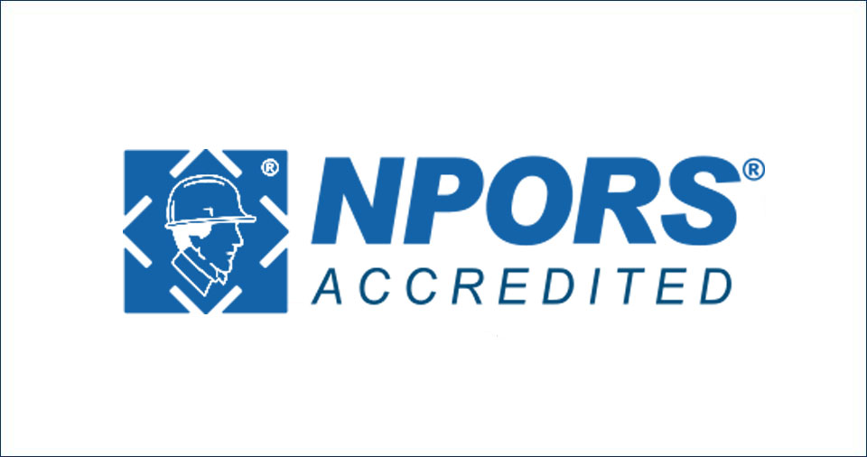 NPORS Accredited