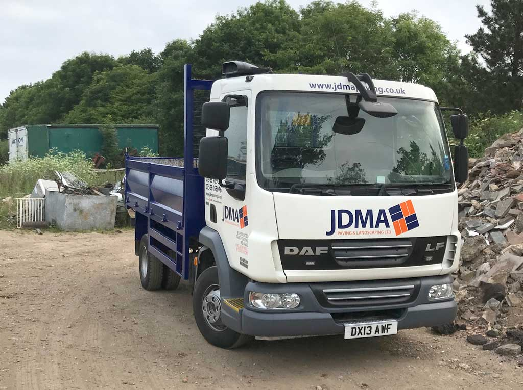 New JDMA Lorry